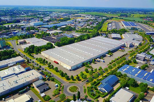 Завод компании в Германии
